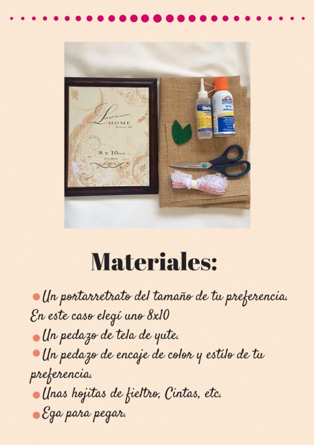 Materiales La rosario